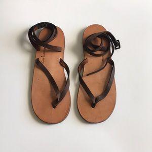 San Lorenzo Lace-up Sandals